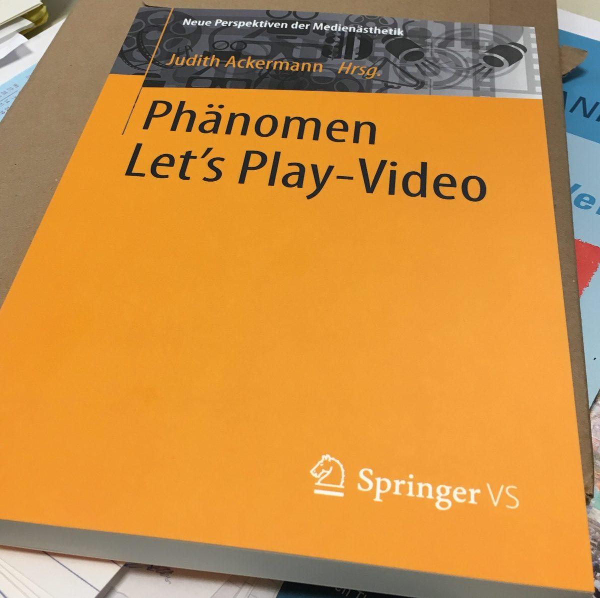 Publikation – Subversivität in Let's Play Videos